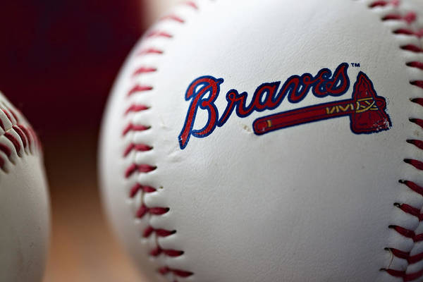 Wall Art - Photograph - Braves Baseball by Ricky Barnard