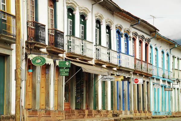 Minas Gerais Wall Art - Photograph - Brazil, Minas Gerais, Mariana, Street by Anthony Asael
