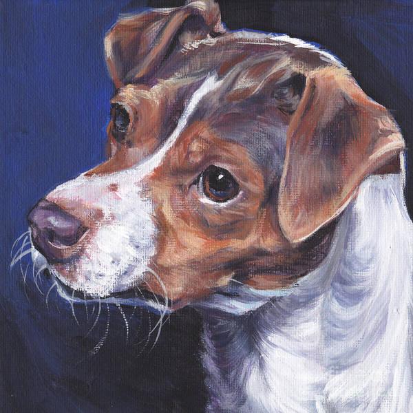 Fox Terrier Wall Art - Painting - Brazilian Terrier by Lee Ann Shepard