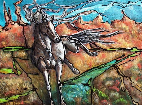 Painting - Break Free by Jonelle T McCoy