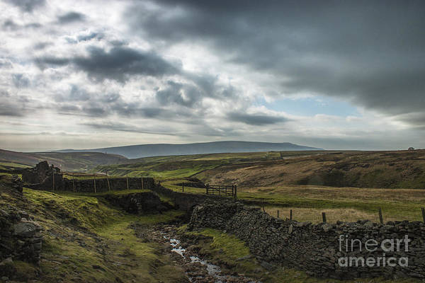 Grassington Photograph - Break In The Clouds by Dave Evans