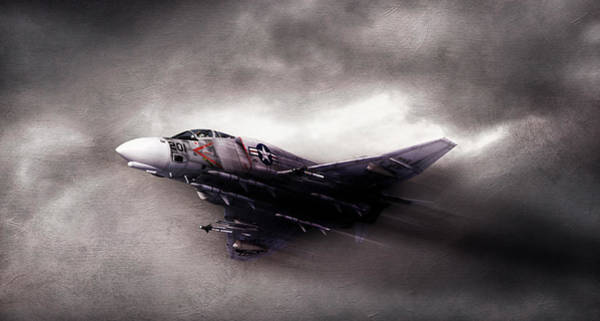 F-4 Wall Art - Digital Art - Break On Through by Peter Chilelli