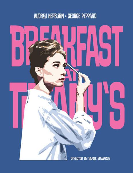 Holly Digital Art - Breakfast At Tiffany's by Douglas Simonson