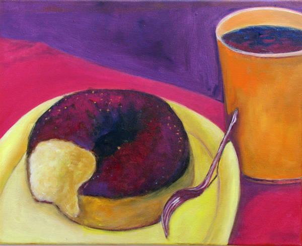 Wall Art - Painting - Breakfast by Barbara Lipkin