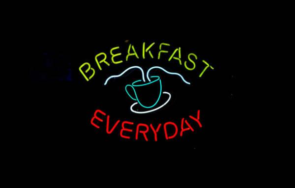 Photograph - Breakfast Everyday by E Faithe Lester