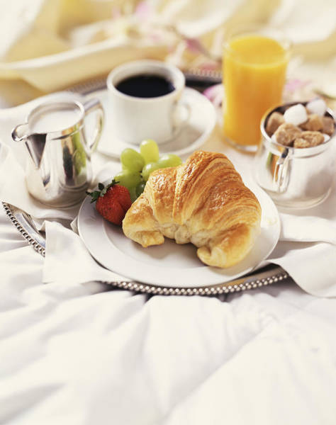 Breakfast In Bed Art Print by Armstrong Studios