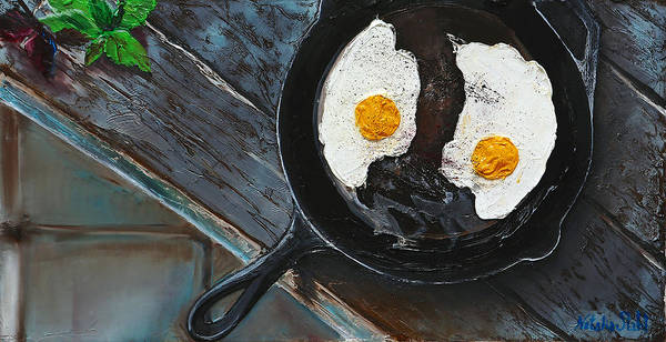 Protein Painting - Breakfast by Natalia Stahl