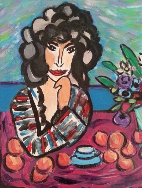 Painting - Breakfast Tea by Nikki Dalton