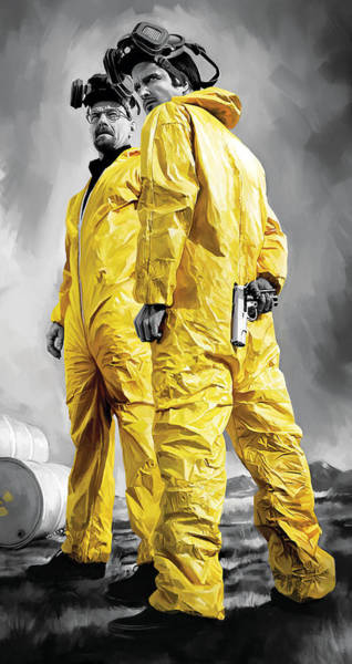 Television Painting - Breaking Bad Artwork by Sheraz A