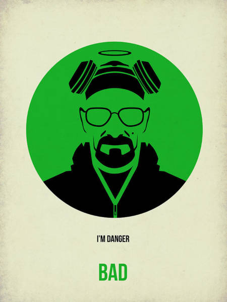 Bad Wall Art - Digital Art - Breaking Bad Poster 2 by Naxart Studio