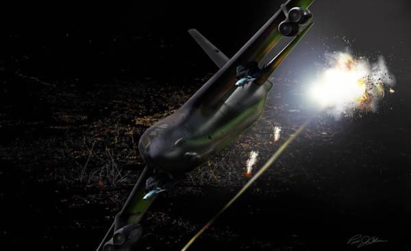 Artillery Digital Art - Breaking Baghdad by Peter Chilelli