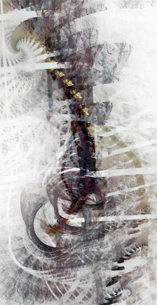 Wall Art - Digital Art - Breaking Bones by NirvanaBlues