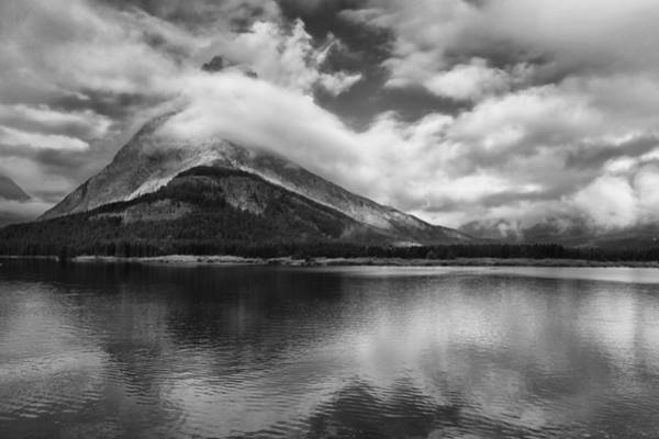 Glacier National Park Photograph - Breaking Clouds by Andrew Soundarajan
