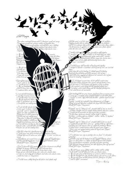 Chain Wall Art - Digital Art - Breaking Free by Sassan Filsoof