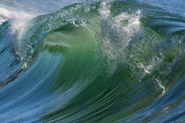 Ken Photograph - Breaking Wave by Ken Archer