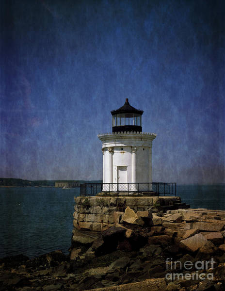 Wall Art - Photograph - Breakwater 'bug Light House by Heinz G Mielke