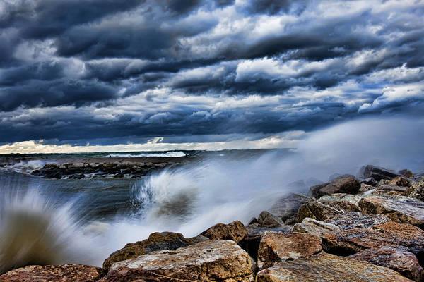 Holland Mi Wall Art - Photograph - Breakwater Holland Michigan by Evie Carrier