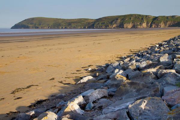 Somerset County Photograph - Brean Down From Brean Beach by Michael Charles