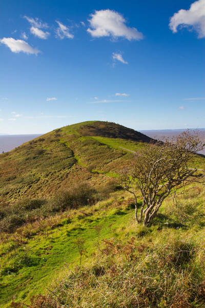Somerset County Photograph - Brean Down Somerset England Uk  by Michael Charles