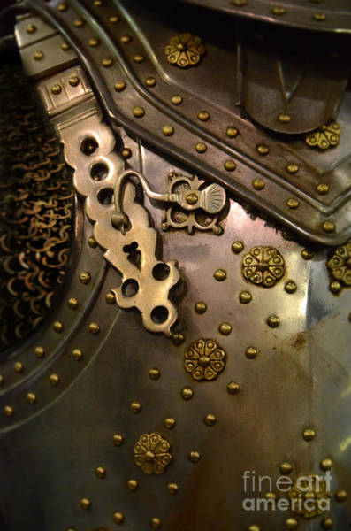 Wall Art - Photograph - Breastplate Armor by Jill Battaglia
