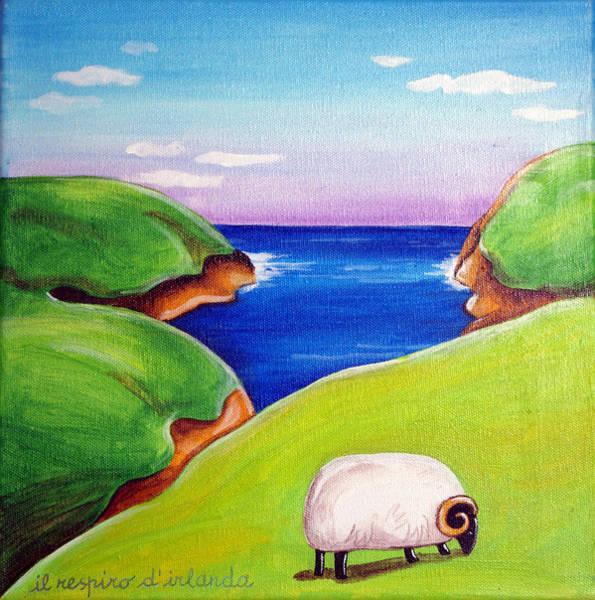 Meadowlands Painting - Breath Of Ireland by Loris Bagnara