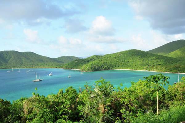 Breath-taking View Of Maho Bay, St. John Art Print