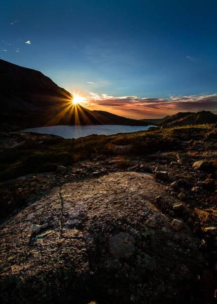 Indian Peaks Wilderness Photograph - Breathless Sunrise II by Steven Reed