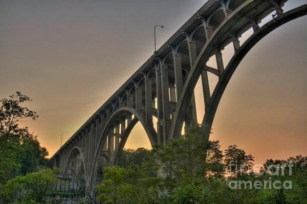 Brecksville Arched Bridge Art Print