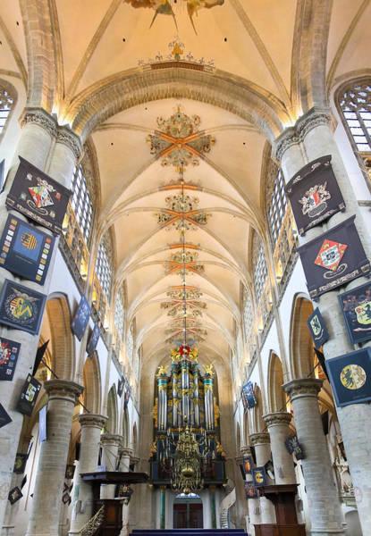 Photograph - Breda Cathedral by Jenny Setchell