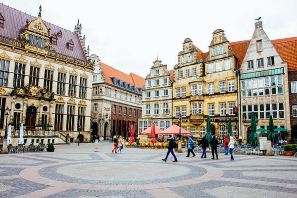 Bremen Wall Art - Photograph - Bremen Main Square by Pati Photography
