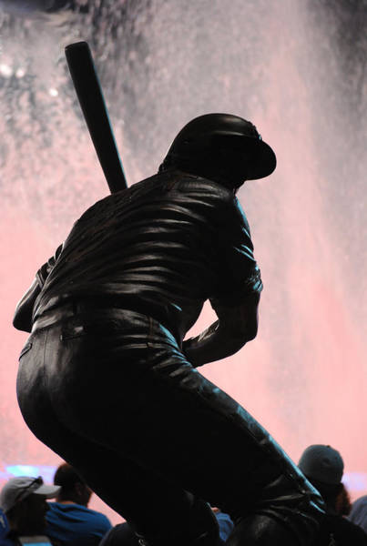 Baseball Hall Of Fame Photograph - Brett Bronze by Glory Ann Penington