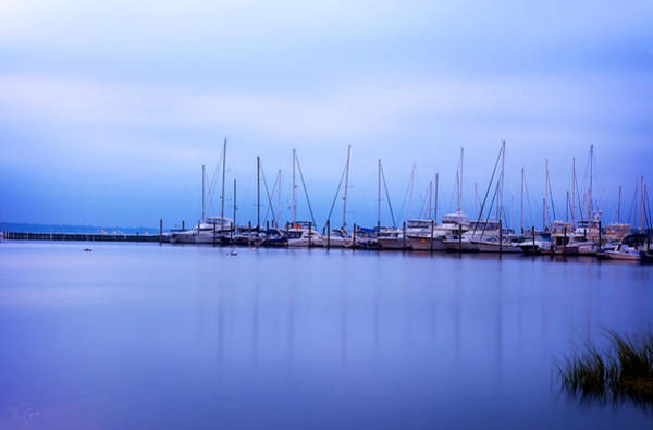 Photograph - Brewer Yacht Yard At Cowesett Rhode Island by Lourry Legarde