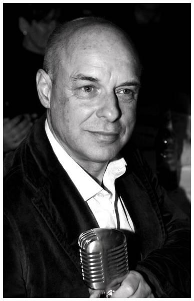 Photograph - Brian Eno by Paul Sutcliffe