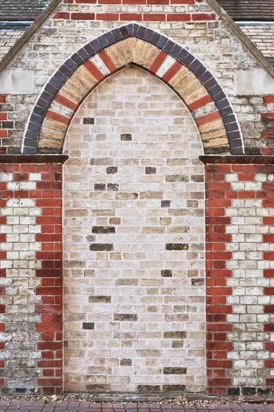 Arc Photograph - Brick Alcove by Tom Gowanlock