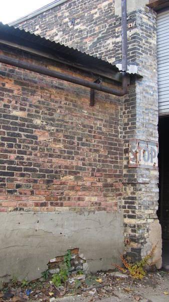 Photograph - Brick Building Stop by Anita Burgermeister