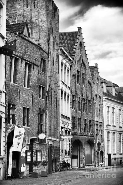 Wall Art - Photograph - Brick Design In Bruges by John Rizzuto
