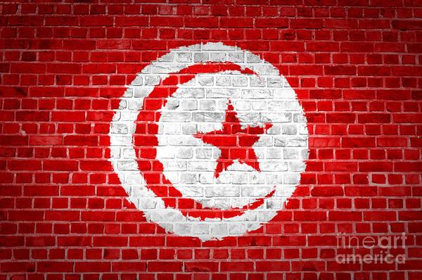 Tunisia Digital Art - Brick Wall Tunisia by Antony McAulay
