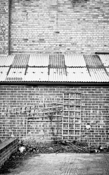 Lean-tos Photograph - Brick Walls by Tom Gowanlock
