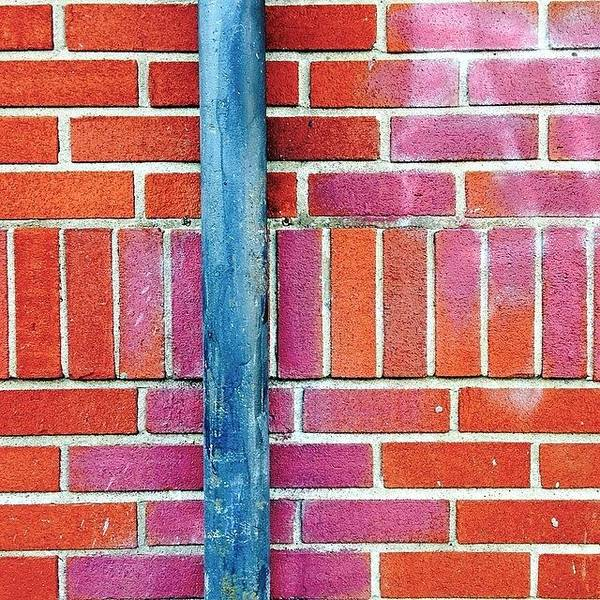 Wall Art - Photograph - Brick And Pipe by Julie Gebhardt