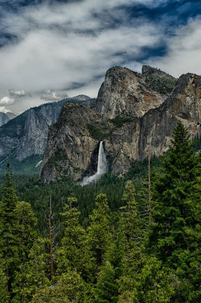 Photograph - Bridalveil And Cathedral Rocks by Cat Connor