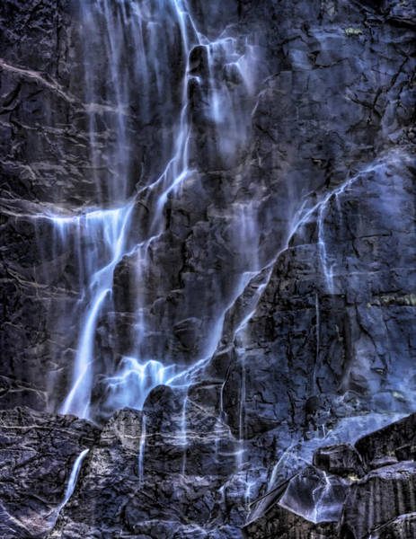 Photograph - Bridalveil Fall by Beth Sargent