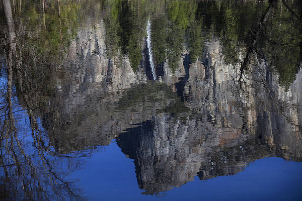 Bridalveil Fall River Reflection Art Print