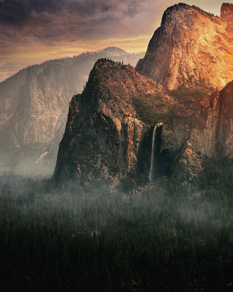 Wall Art - Photograph - Bridalveil Fall, Yosemite by David George