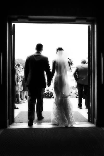 Bride Photograph - Bride And Groom by Rick Berk
