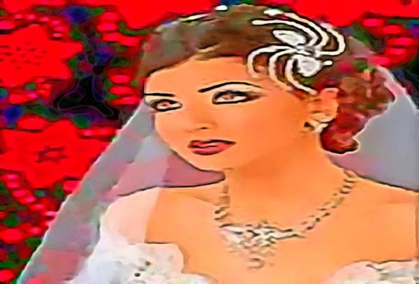 Digital Art - Bride To Be by Catherine Lott