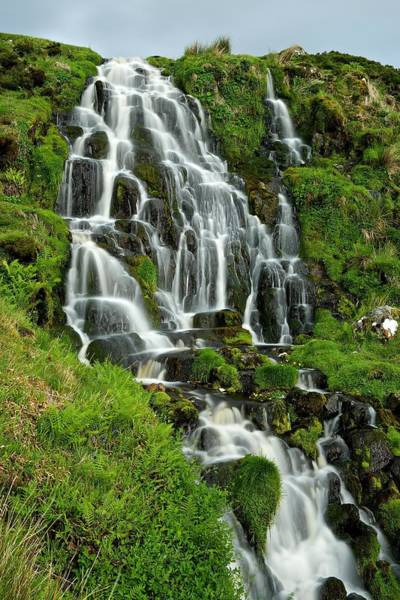 Photograph - Bride's Veil Waterfall by Stephen Taylor