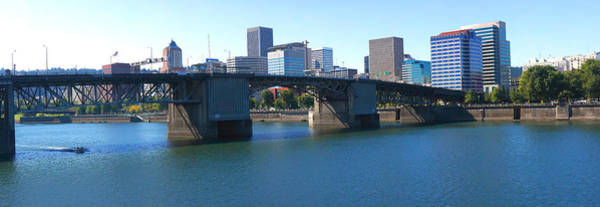 Burnside Bridge Photograph - Bridge Across A River, Burnside Bridge by Panoramic Images