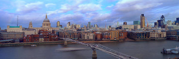 Tate Photograph - Bridge Across A River, London by Panoramic Images