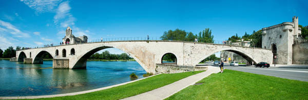 Rhone River Photograph - Bridge Across A River, Pont by Panoramic Images