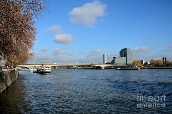 Photograph - Bridge Across Rhine River Cologne Germany by Imran Ahmed